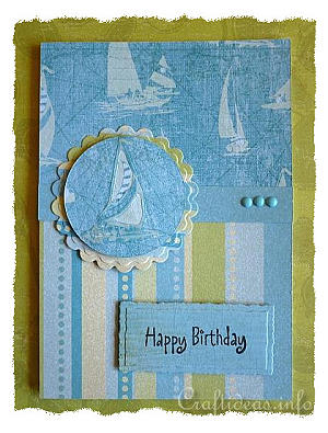 Birthday Card for Men - Maritime