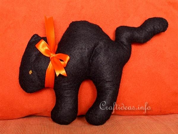 Black Cat Doll 400