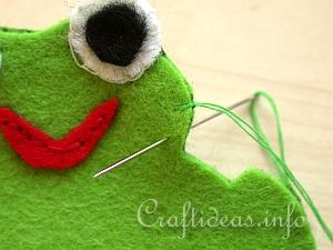 Blanket Stitch Tutorial 1