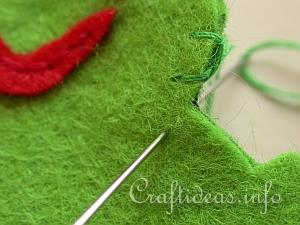 Blanket Stitch Tutorial 6