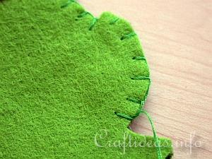 Blanket Stitch Tutorial 7