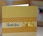 Cheery Yellow Thank You Card