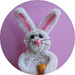 Chenille Easter Bunny 150