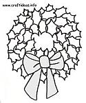 Free Christmas and Winter Craft Patterns, Templates and Coloring Book Pages 2
