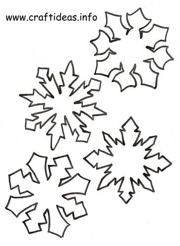 Christmas Craft Patterns - Snowflake Set 3 500