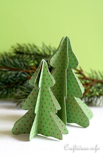 Free Paper Craft Ideas Christmas