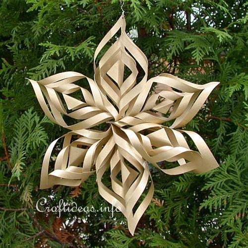 Christmas Paper Craft   Christmas Star Window Decoration