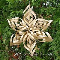 Christmas Paper Craft - Christmas Star Window Decoration