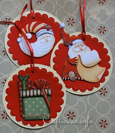 Christmas Paper Craft - Easy Christmas Tags