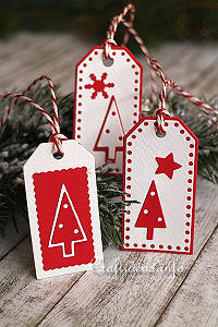 Christmas Paper Craft - Tags - Christmas Tag Trio