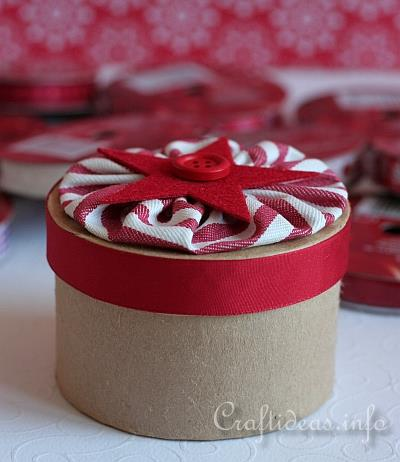 Christmas Project - Paper Mache Gift Box 1
