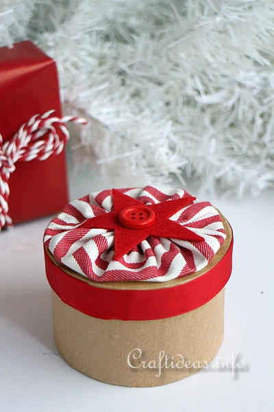 Christmas Project - Paper Mache Gift Box 2