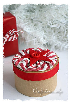 Christmas Project - Paper Mache Gift Box