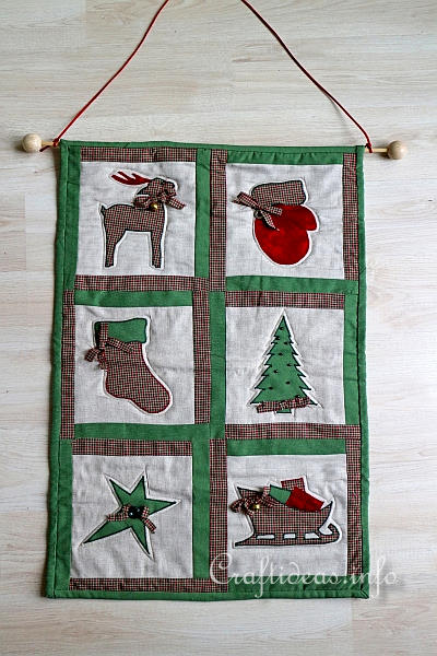 Christmas Quilt - Wallhanging