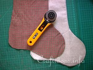 Christmas Stocking Tutorial 1