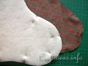 Christmas Stocking Tutorial 4