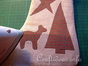 Christmas Stocking Tutorial 7