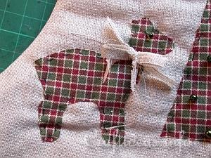Christmas Stocking Tutorial 9