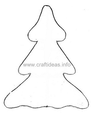 Free Craft Pattern Wooden Tree Pattern
