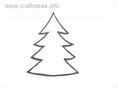 Christmas Tree Paper-Bag Puppet (Pattern) | Product Detail