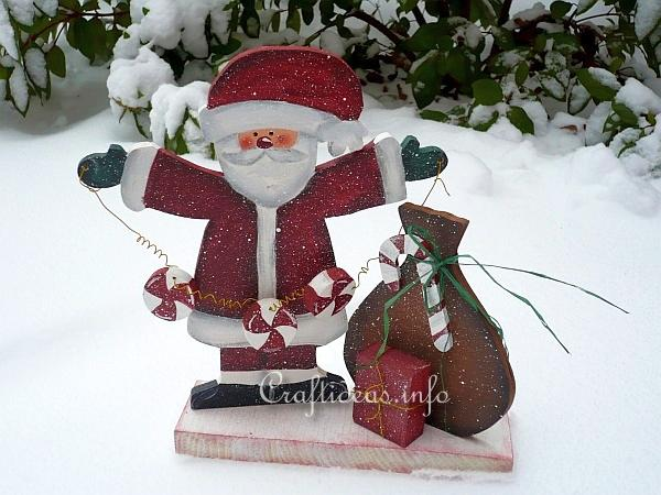 Wood Crafts With Free Patterns Scrollsaw Project Christmas Santa