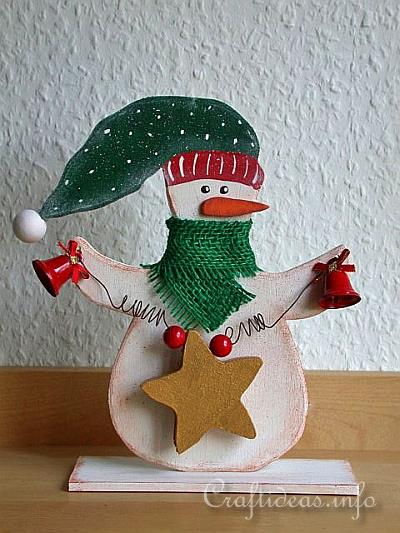 Wood Crafts With Free Patterns Christmas Scrollsaw Project Cool Wooden Snowman Patterns