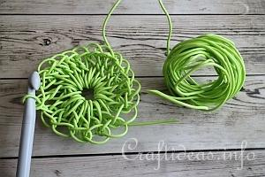 Clothesline Basket Tutorial 1