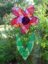 Colorful Flower Craft