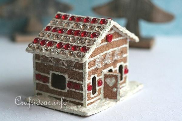 Cork Gingerbread House 2