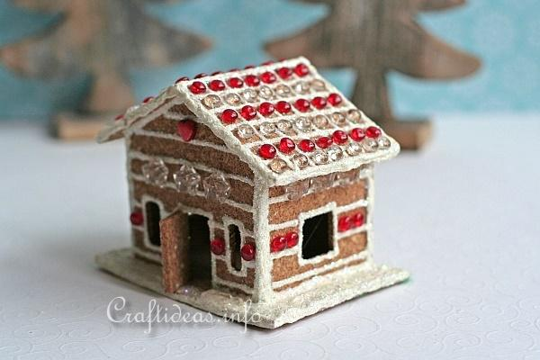 Cork Gingerbread House 3