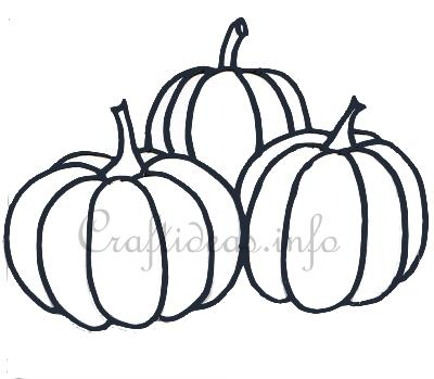 Free Craft Template For Pumpkins