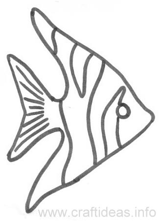 Craft Pattern - Angel Fish
