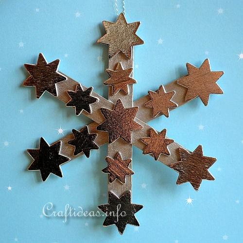 Kids Craft For Snowflakes