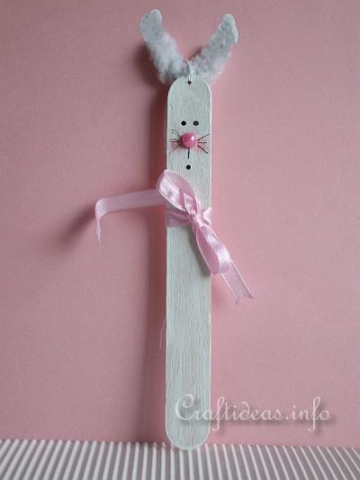 Easter Craft For Kids Craft Stick Bunny