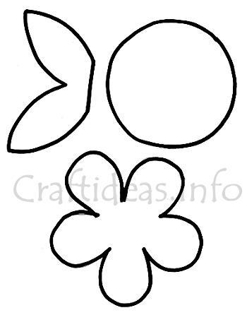 Spring wood craft template spring flower mightylinksfo