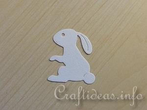 Craft Tutorial - Easter Bunny Tea Light House 8