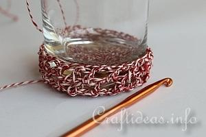 Crochet Glass Cover 10