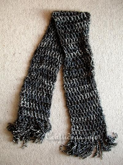 Crochet Project - Quick and Easy Winter Scarf 2