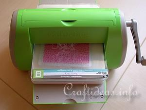 Cuttlebug Embossing Folder 6