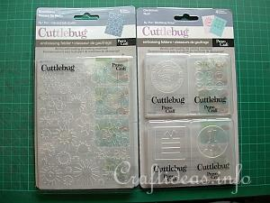 Cuttlebug Embossing Folders