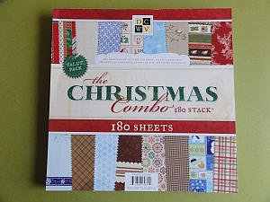 DCWV The Christmas Combo Scrapbook Paper Pack