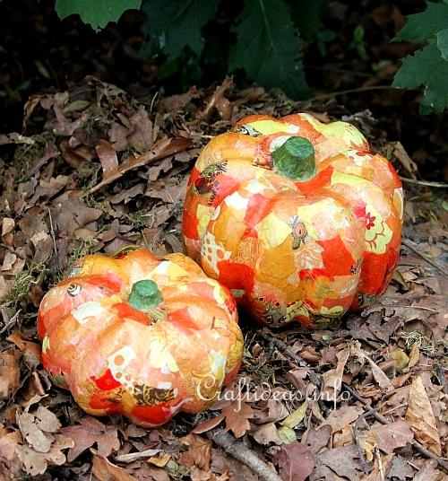 Decopage Pumpkins 1