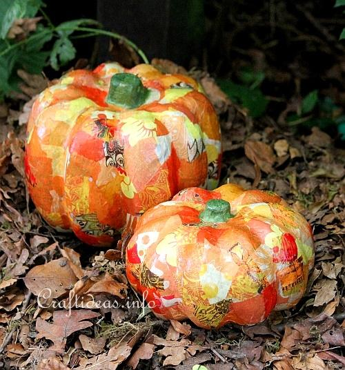 Decopage Pumpkins 2