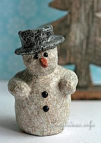 Decopatch Snowman