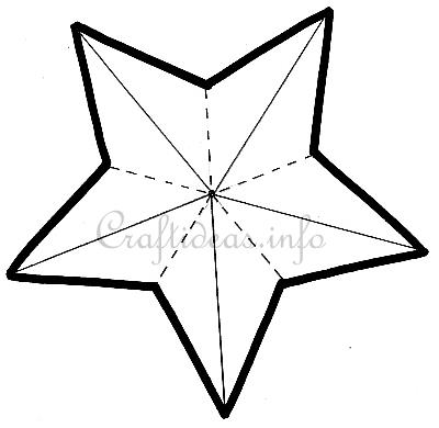 Craft Pattern  Pointed Star Pattern