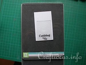 Double Do XL with Cuttlebug Embossing Folders 7