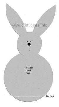 Easter Bunny Pattern for Kids