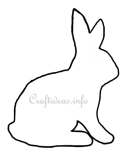easter crafts easter bunny craft template