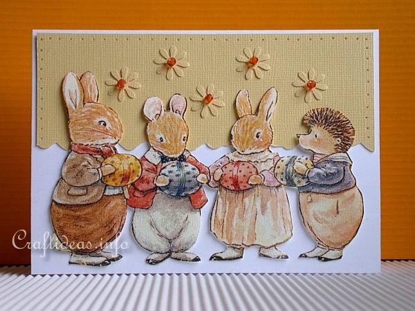 Free Craft Ideas For Easter Foxwood Tales Card Craft