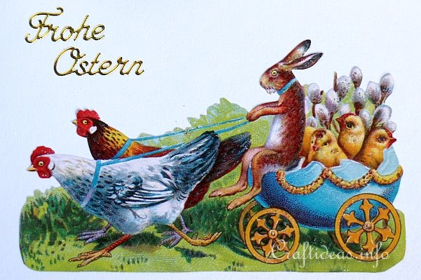 Easter Card With Vintage Easter Motif 2